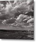 Stormy Wyoming Sky Metal Print