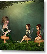 Story Timei N The Forest Metal Print