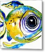 Stout Lookout Fish Metal Print