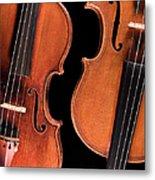 Stradivarius Violin And Maggini Viola Metal Print