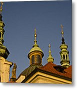 Strahov Monastery - Prague Czech Republic Metal Print