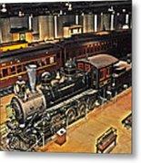 Strasburg Railroad Museum Metal Print