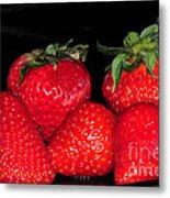 Strawberries Metal Print by Paul Ward