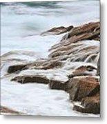 Streaming Seas Metal Print