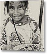 Street Child  Metal Print