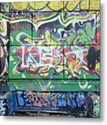 Street Graffiti - Tubs IIi Metal Print