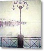 Street Lamp Metal Print by Joana Kruse