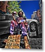 Street Life 4 Metal Print