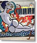Street Life Rio De Janeiro Metal Print by Joe Rondone