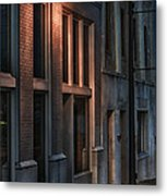 Street Light Metal Print