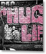 Street Phenomenon 2pac Metal Print