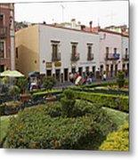 Street Scene In Plaza De La Paz Metal Print