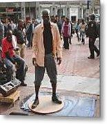 Street Tap Dancers No. One Metal Print