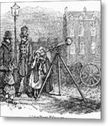 Street Telescope Metal Print