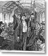 Streetcar, 1876 Metal Print by Granger