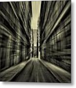 Streets Of Madness Metal Print