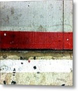 Streets Of New York Abstract Eight Metal Print