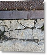 Streets Of Ny Abstract Three Metal Print
