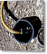 Streets Of Tombstone 8 Metal Print