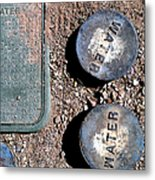 Streets Of Tombstone 9 Metal Print