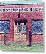Strickland Grocery Metal Print