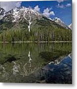 String Lake Panorama Metal Print