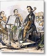 String Quartet, 1846 Metal Print