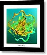 String Theory D Metal Print