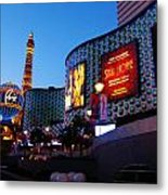 Strip House Metal Print