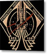 Sts-135 One Last Time Metal Print by Jim Ross