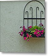 Stucco Accent Metal Print