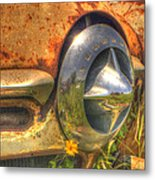 Studebaker Reflections Metal Print