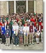 Students Catholic Schools 2007 Metal Print