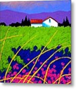 Study For Provence Painting Metal Print