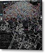 Stugis Motorcycle Rally Metal Print