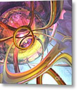 Subtlety Abstract Metal Print