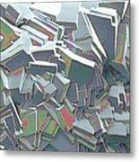 Sucrose Crystals, Sem Metal Print by Steve Gschmeissner