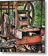 Sugar Cane Mill Metal Print by Tamyra Ayles