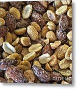 Sugar Coated Mixed Nuts Metal Print