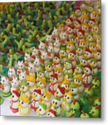 Sugar Figurines For Sale At The Day Metal Print