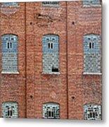 Sugar Mill Broken Windows Metal Print