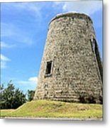 Sugar Mill Metal Print