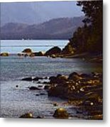 Sugar Pine Point Beach Metal Print