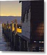 Sugar Pine Point Dock Metal Print