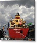 Sugar Ship Metal Print