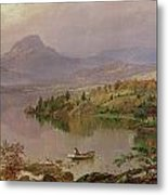 Sugarloaf From Wickham Lake Metal Print by Jasper Francis Cropsey