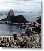 Sugarloaf Mountain Brasil Metal Print