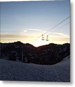 Sugarloaf Sunrise Metal Print