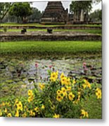 Sukhothai Historical Park Metal Print