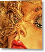 Sultry Womankin Metal Print by David Taylor